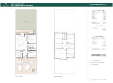 Plano vivienda central
